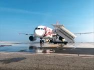 Primo volo Genova-Bucarest (1)